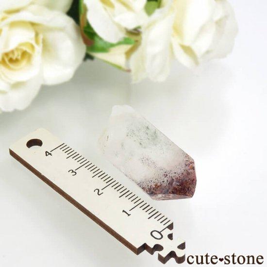 ナミビア産 レピドクロサイトインクォーツ(ファイアークォーツ)の結晶(原石) 8.2gの写真3 cute stone