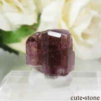 マダガスカル Fasimena産 ピンクトルマリンの結晶(原石) 2gの画像