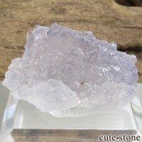フランス Fontsante Mine産 ライトブルーフローライトの結晶(原石)9.3gの画像