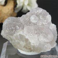 フランス Fontsante Mine産 ホワイトフローライトの結晶(原石)33gの画像