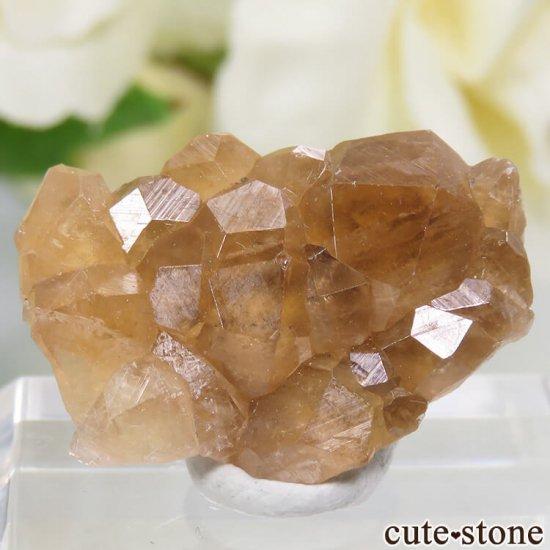 カナダ ケベック州 Jeffrey Mine産 グロッシュラーガーネットの原石 3g