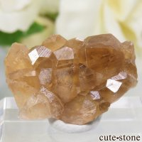 カナダ ケベック州 Jeffrey Mine産 グロッシュラーガーネットの原石 3gの画像