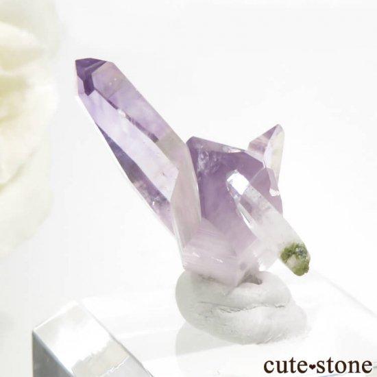 メキシコ ベラクルス産 アメジストの結晶(ベラクルスアメジストの原石) 4.2gの写真0 cute stone