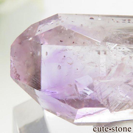 ジンバブエ産 アメジストの結晶(原石) 6.9gの写真4 cute stone