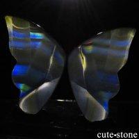 インドネシア産 アイリスアゲートの蝶(イリスアゲート バタフライ) No.11の画像
