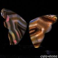 インドネシア産 アイリスアゲートの蝶(イリスアゲート バタフライ) No.15の画像
