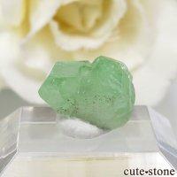 タンザニア産 ツァボライトの結晶(原石) 5.3ctの画像