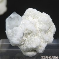 ナミビア エロンゴ産 ブルートパーズの結晶(原石)3.4gの画像