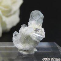ナミビア エロンゴ産 ブルートパーズの結晶(原石)1.2gの画像