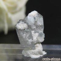 ナミビア エロンゴ産 ブルートパーズの結晶(原石)0.7gの画像