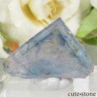 フランス La Barre Mine産 ブルー×イエローフローライトの結晶(原石) 3.9gの画像