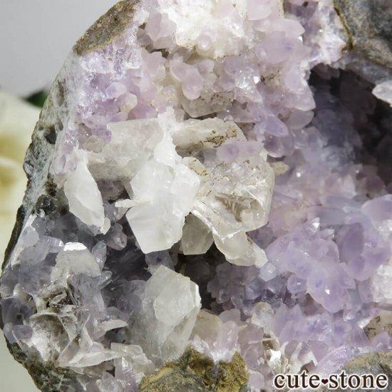 インド Khadakwani産 アメジストの原石 57gの写真1 cute stone