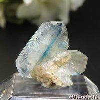 ブラジル Equador産 ユークレースの結晶(原石) 6.3ctの画像