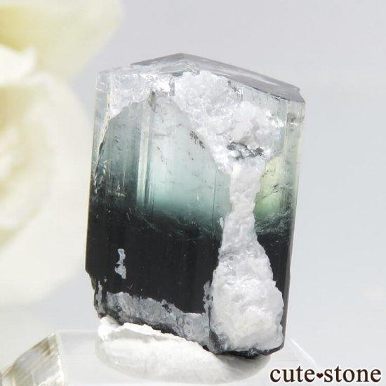パキスタン スカルドゥ産 ブルートルマリンの結晶 3.3gの写真1 cute stone