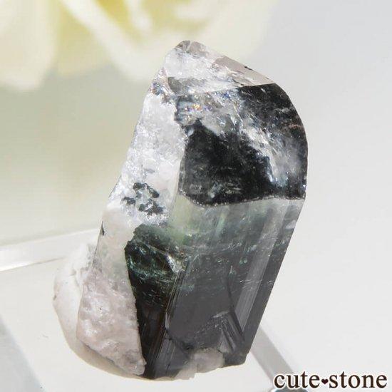 パキスタン スカルドゥ産 ブルートルマリンの結晶 3.3gの写真4 cute stone