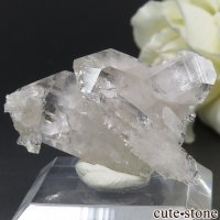 フランス アルプス(Les Deux Alpes)産 クォーツの結晶 8.7gの画像
