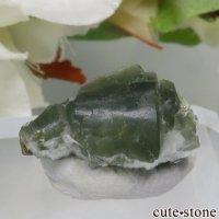 フランス La Combe de la Selle産 プレナイト&エピドートの結晶 1.4gの画像