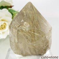 ブラジル バイーア州産 ルチルインクォーツ結晶(原石) 36.1gの画像