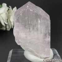 アフガニスタン産 クンツァイト (スポジュメン・リチア輝石) の結晶(原石) 56.6gの画像