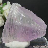 アフガニスタン産 クンツァイト (スポジュメン・リチア輝石) の結晶(原石) 54.2gの画像
