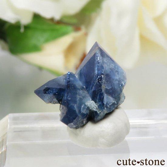 カリフォルニア産 ベニトアイトの結晶(原石)1gの写真2 cute stone