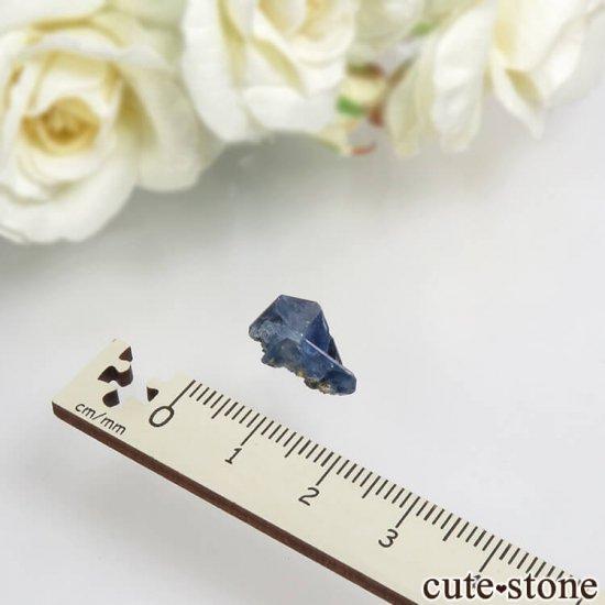 カリフォルニア産 ベニトアイトの結晶(原石)1gの写真4 cute stone