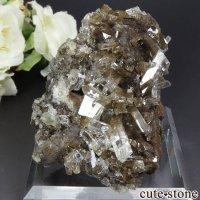 中国 Xia Yang Mine産 カルサイト&フローライトの母岩付き結晶 204gの画像