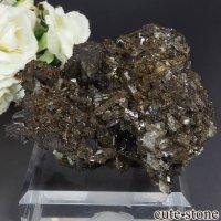 中国 Xia Yang Mine産 カルサイト&フローライトの母岩付き結晶 172gの画像