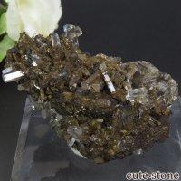 中国 Xia Yang Mine産 カルサイト&フローライトの母岩付き結晶 66gの画像