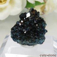 カナダ ユーコン ラピッドクリーク産 ラズライト(天藍石)の母岩付き結晶(原石) 約2.5gの画像