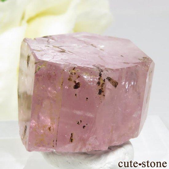 パキスタン Chumar Bakhoor産 ピンクアパタイトの結晶 16gの写真2 cute stone