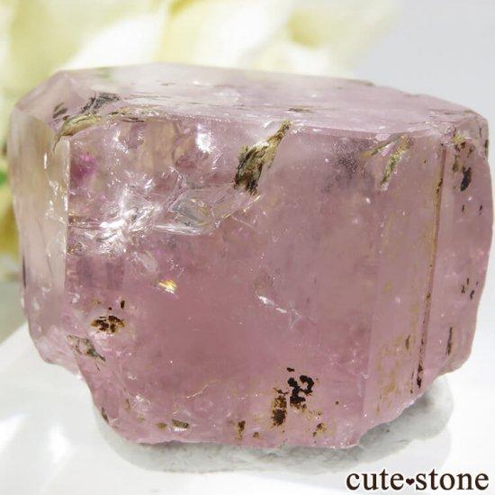 パキスタン Chumar Bakhoor産 ピンクアパタイトの結晶 16gの写真3 cute stone