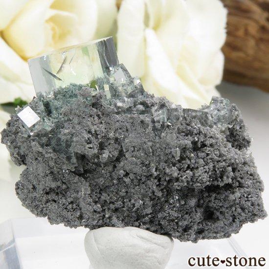 中国 Xianghualing Mine産 グリーンフローライトの結晶 11gの写真1 cute stone