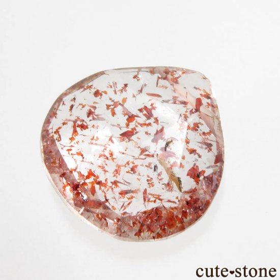 【粒売り】 ファイアークォーツ(レピドクロサイトインクォーツ) AAA++ マロンカット No.1の写真0 cute stone