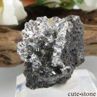 ハンガリー Kopasz Hill andesite quarry産 ハイアライト(オパール)の母岩付き原石 8.9gの画像