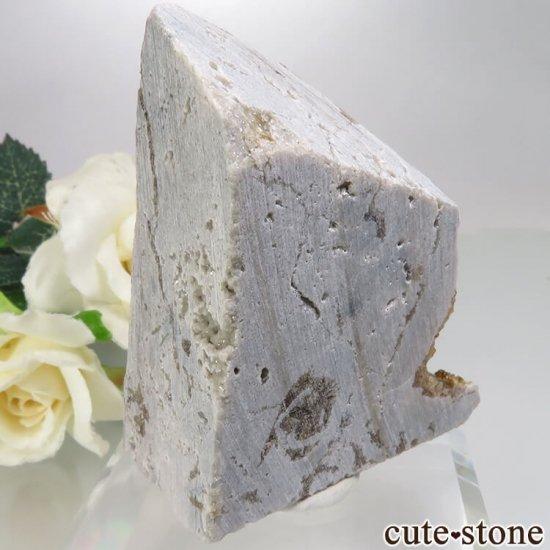 アメリカ オハイオ州産 フローライトの母岩付き原石 64.6gの写真0 cute stone