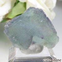 オーストリア Salzburg産 ブルー×グリーンフローライトの原石 No.1の画像