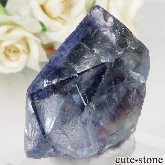 ヤオガンシャン産 ブルーフローライト No.31の写真1 cute stone