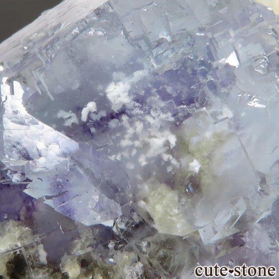 ヤオガンシャン産 ブルーフローライト&モスコバイト No.34の写真4 cute stone