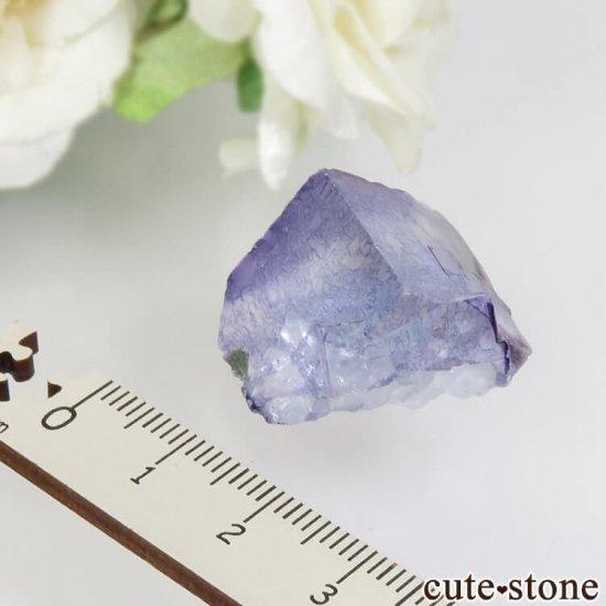 ヤオガンシャン産 ブルーフローライト No.36の写真0 cute stone