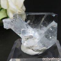 中国 福建省産 ライトグリーンブルーフローライトの原石 No.2の画像