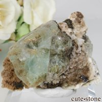 メキシコ Naica Mine産 グリーンフローライトの原石 No.1の画像