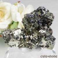 ペルー Huanzala Mine産 パイライト&カルサイト&ガレナ&スファレライトの原石 No.16の画像