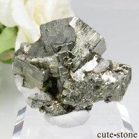 ペルー Huanzala Mine産 パイライト&カルサイト&スファレライトの原石 No.17の画像