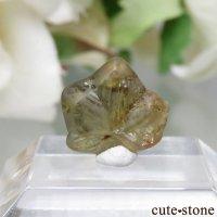 スリランカ Ratnapura産 クリソベリルの原石(双晶) No.2の画像