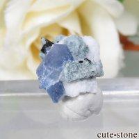 カリフォルニア産 ベニトアイト&ネプチュナイトの母岩付き原石 No.76の画像