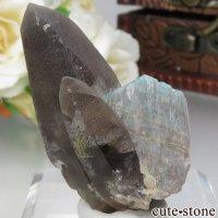 コロラド州産 アマゾナイト&スモーキークォーツの原石 No.4の画像