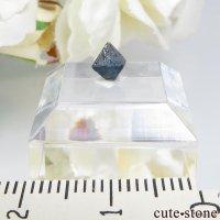 ナイジェリア産 ブルースピネル(ガーナイト)の結晶(原石)No.1の画像