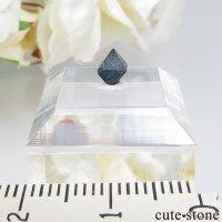 ナイジェリア産 ブルースピネル(ガーナイト)の結晶(原石)No.2の画像