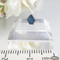 ナイジェリア産 ブルースピネル(ガーナイト)の結晶(原石)No.4の画像